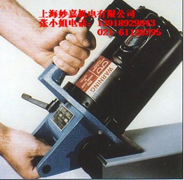 进口电动手持式钢板坡口机,坡边机