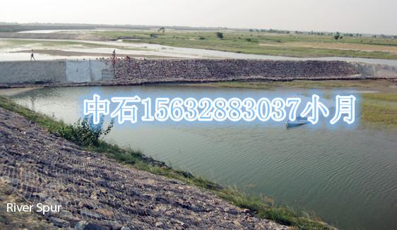 双绞合镀锌石笼网/防洪护堤石笼网箱/生态覆塑格宾石笼