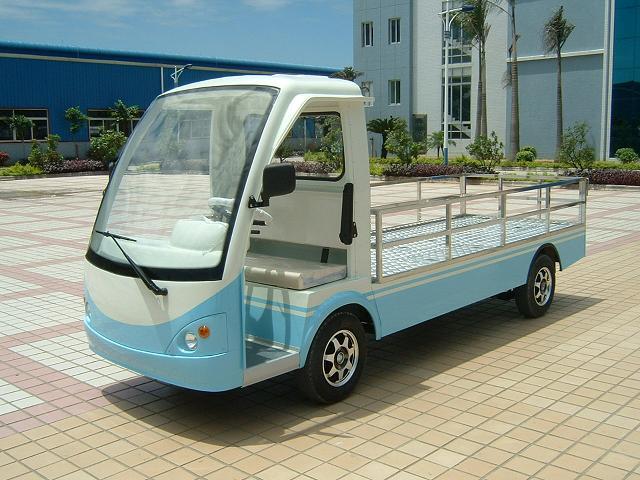 朗晴牌长沙电动载货车,电动平板货车,电瓶平板货车图片