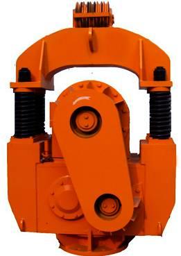 灌注桩下钢筋笼子专用弹簧振动锤