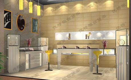 南京木质柜台 玻璃展柜 饰品展柜