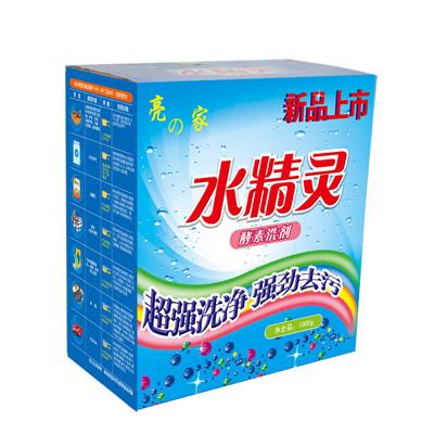 供应亮之家水精灵蓝莓彩飘洗粉 特价促销茉莉香型1kg装 量大从优