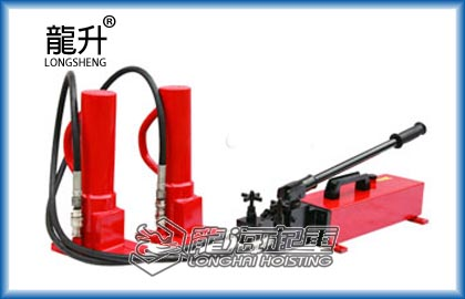 龙升LHS-20-2分离式爪式千斤顶,大行程千斤顶,菏泽热销