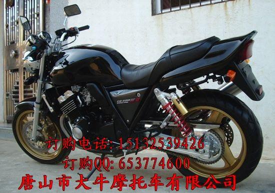 摩托车本田400电路图