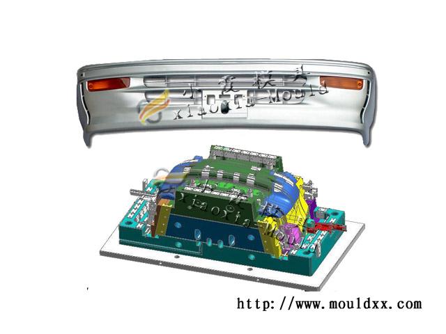 制造塑料客车保险杠模具,开心保险杠模具