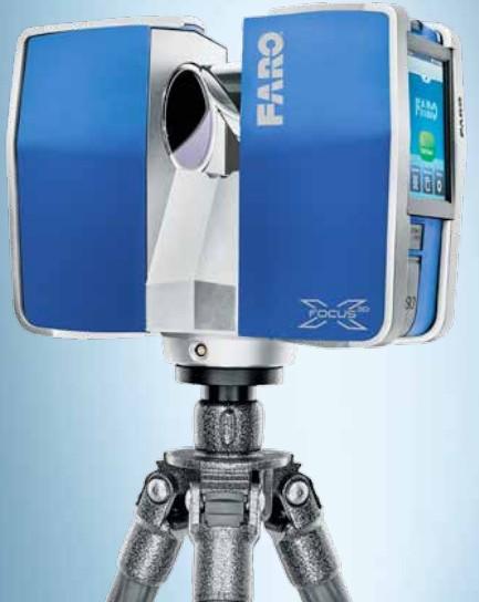 文物建模复原用三维激光扫描仪Farox330