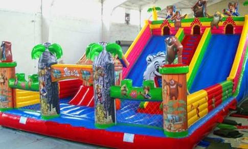 河南儿童充气城堡,河北大型充气滑梯