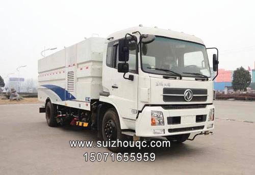 东风天锦185-210马力8吨洗扫车