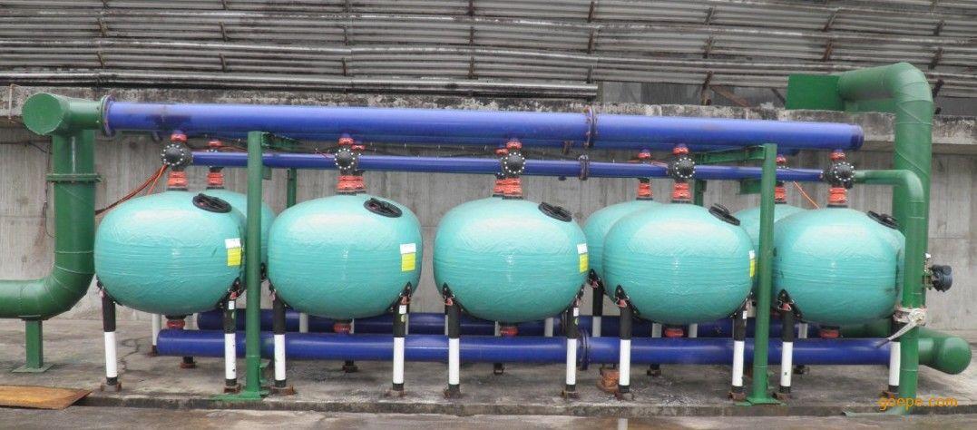 冷却循环水旁滤器系统