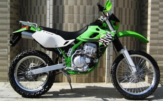 川崎klx250 越野摩托车 川崎摩托车