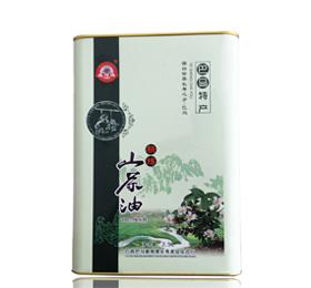 广西特产100%纯正巴马养生野生山茶油 茶籽油 铁罐装2.5L