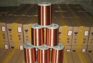 QZY聚酯亚胺漆包圆铜线,EIW聚酯亚胺电磁线,QZY进口漆包线