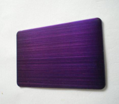 彩色不锈钢拉丝板|专业镀色加工