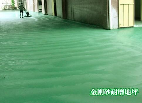 烟台金刚砂耐磨硬化地面施工多少钱一平米
