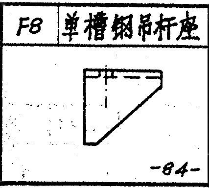 直销山东F8单槽钢吊杆座