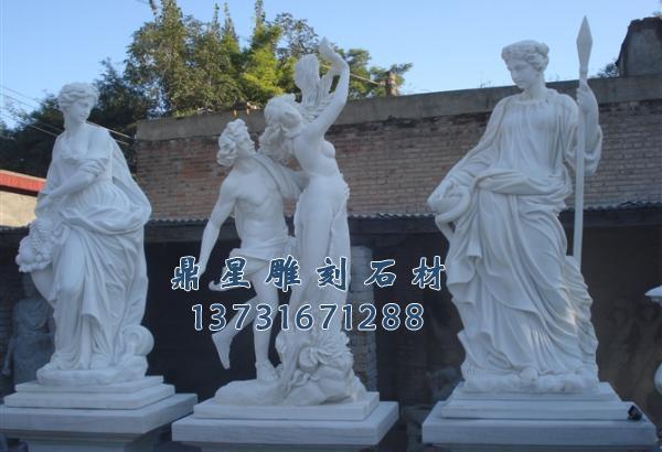 西方人物石雕