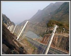 菱形边坡被动防护网厂家,RX025型钢绳被动网价格,成都被动网厂