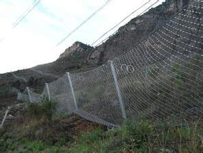 国省干道水电站专用边坡被动防护网,环形被动网,菱形被动网供应厂家