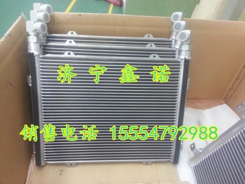 小松油冷器水箱散热器原装挖掘机配件