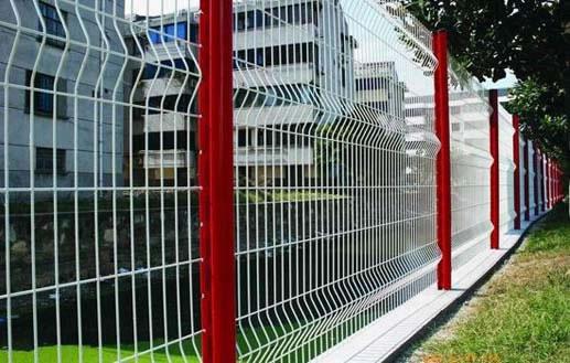 桃形柱护栏网价格|桃形柱护栏网厂家|厂区护栏网