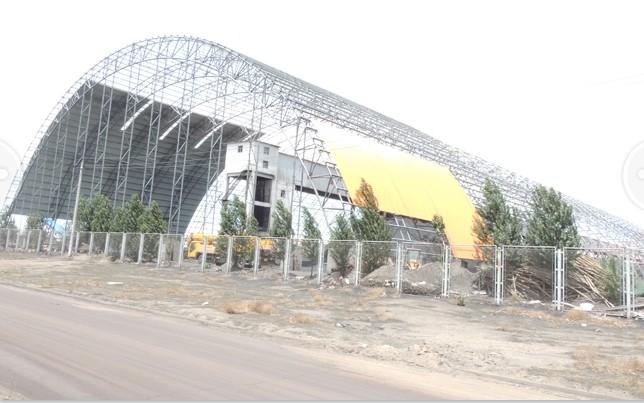 承接开闭式钢膜结构蓬设计、施工工程-港筑膜结构