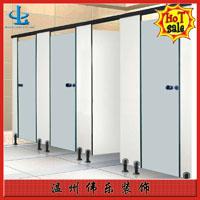 伟乐公共卫生间隔断,温州工程安装防水厕所隔断