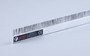 FRASER不锈钢纤维防静电刷,除静电刷,静电消除刷