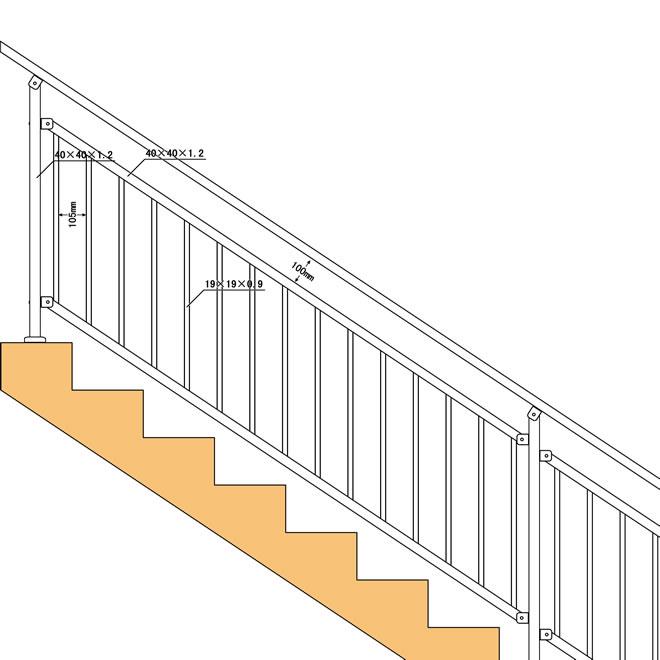 供应优质楼梯扶手,小区楼梯扶手,学校楼梯扶手