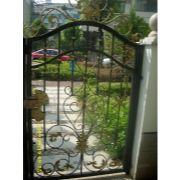欧式铁艺大门、小区大门、围栏 、护栏