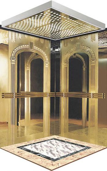 供应不锈钢电梯轿厢蚀刻板 批发不锈钢制品镀钛