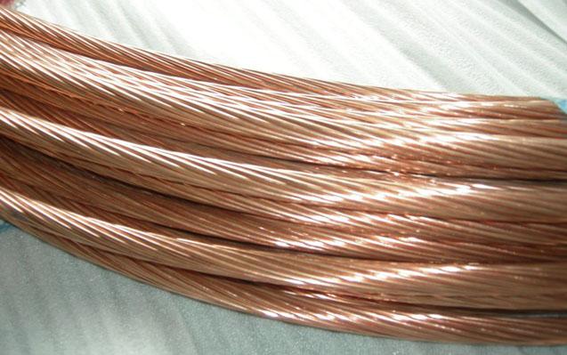 铜包钢接地绞线 铜包钢绞线 铜包钢接地圆线