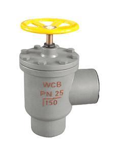 J64B-25C,J64F-25C角式焊接氨用截止阀