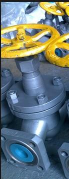 J41B-25C,J41F-25C方型法兰氨用截止阀