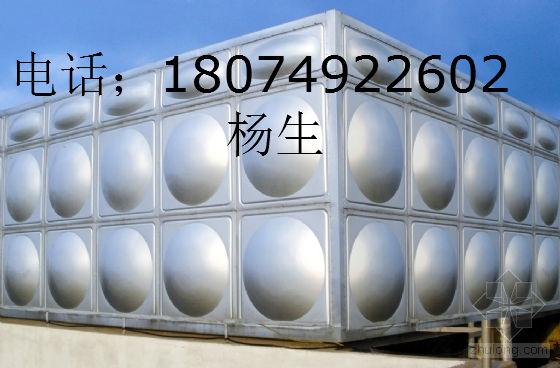 广西南宁不锈钢消防水箱