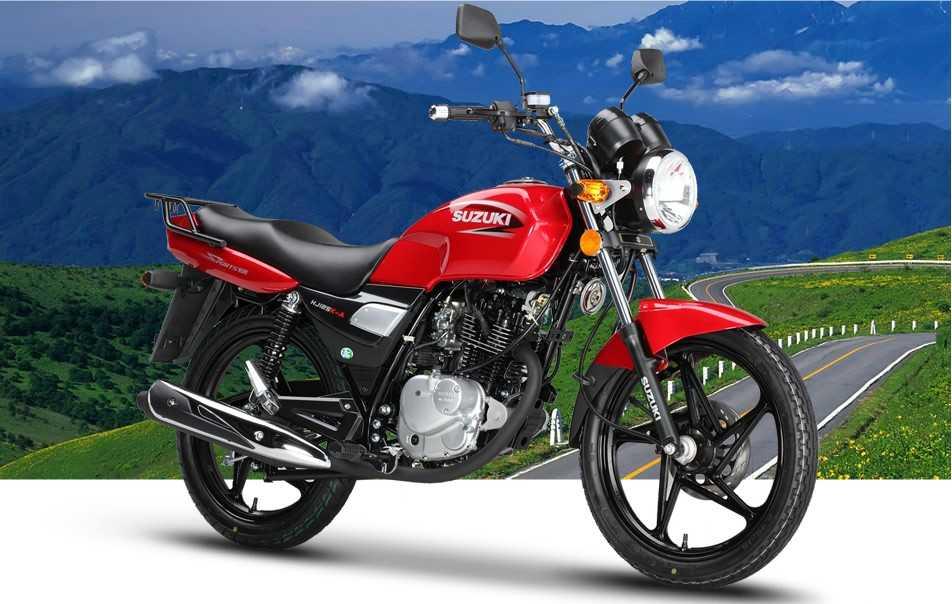 豪爵铃木钻豹hj125k-a摩托车价格
