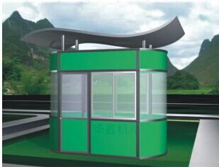 南宁复合铝板岗亭红昌科技岗亭多种材料选择
