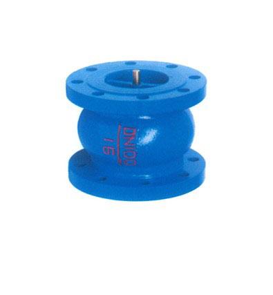 HC41X铸铁立式消声止回阀 水泵消声止回阀 中央空调止回阀