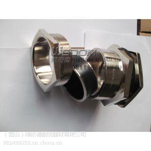 供应公制不锈钢金属软管接头 M螺纹接管固定锁线防腐连接头