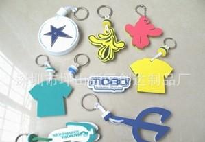 各种卡通图纹EVA钥匙扣