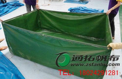 沈阳帆布游泳生产厂家、安徽养殖帆布鱼池订做价格及报价PA750