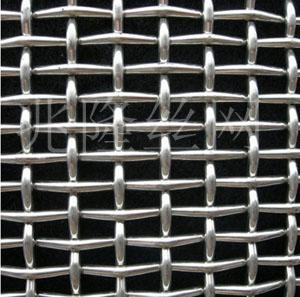 兆隆不锈钢轧花网 重型轧花网盘条轧花网