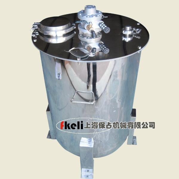 供应企业:上海保占机械有限公司 产品说明:桶材质均采用304不锈钢桶盖
