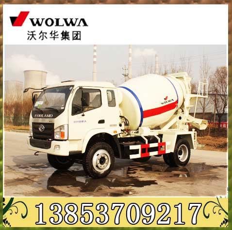 2立方混凝土搅拌运输车 混凝土搅拌车