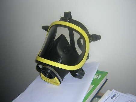 消防过滤式综合防毒面具 威尔品牌 LA安全标志