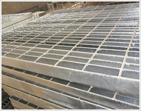 炽盛镀锌钢格板踏步板沟盖板