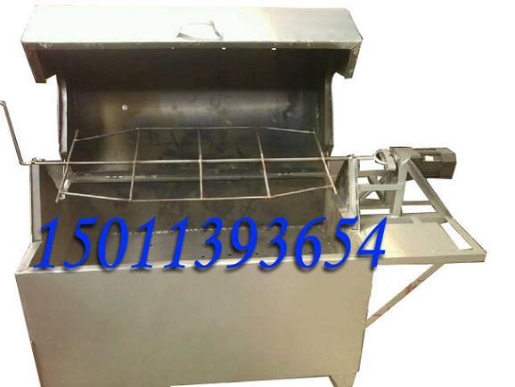 木炭烤全羊炉|炭烤羊腿设备|自动烤羊排机