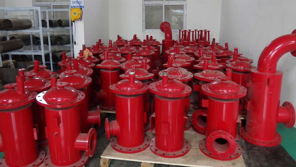 自清洗过滤器应用于管道系统中