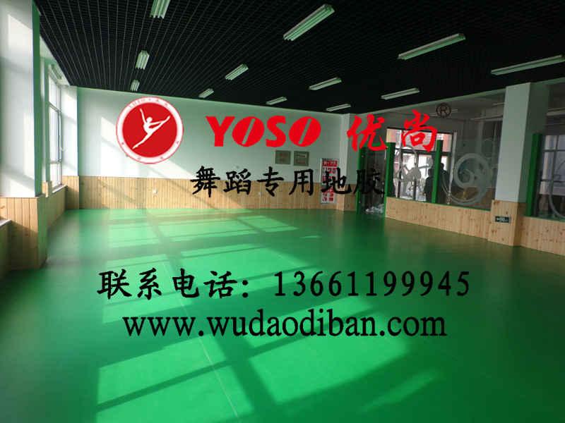 重庆舞蹈房运动地胶 ,舞蹈房地胶厂家,舞蹈房专用PVC地板批发