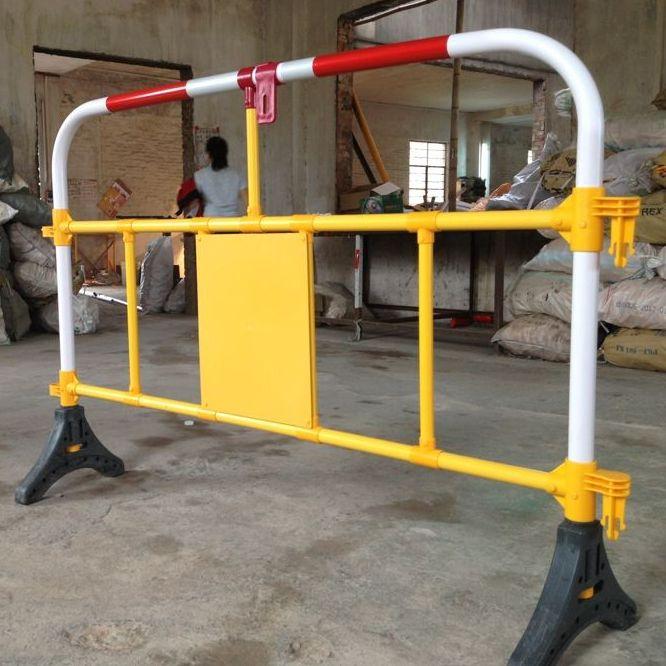 工地施工防护栏 国外工地警示围栏 承接交通设施工程 欧式护栏