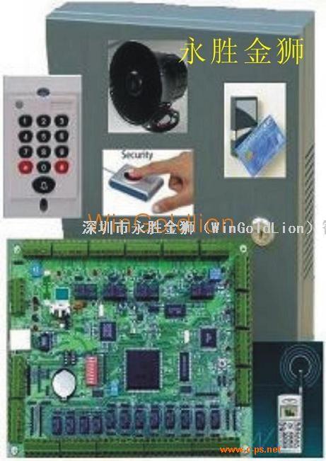 TCP/IP联网型四门控制器